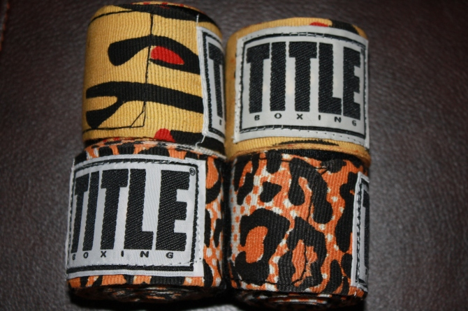 leopard boxing hand wraps